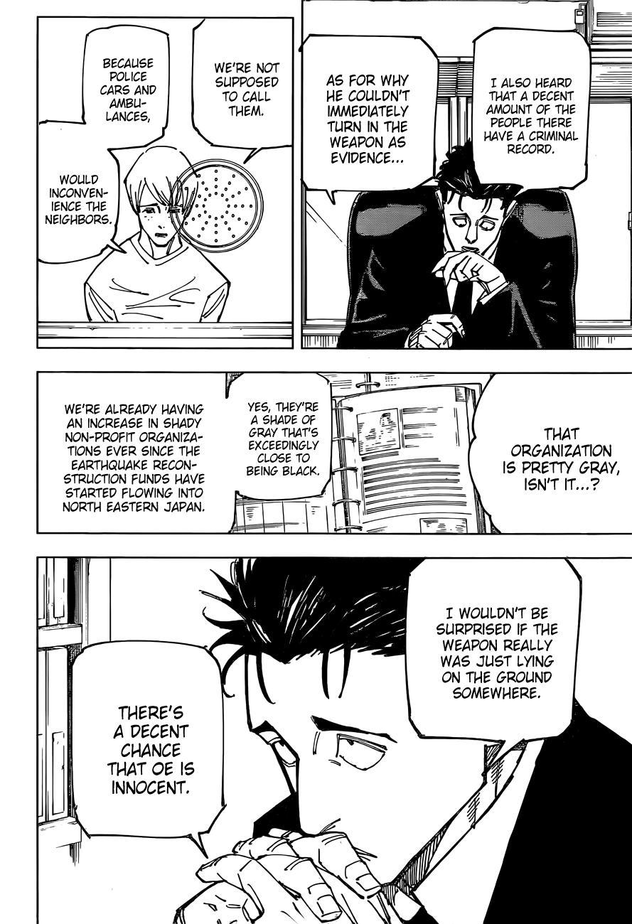 Jujutsu Kaisen, Chapter 159 image 06