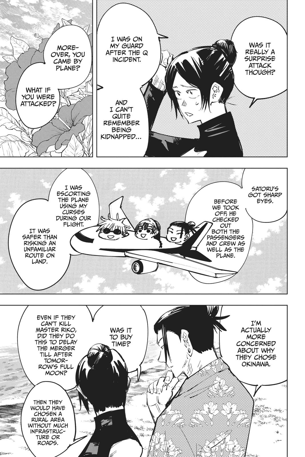 Jujutsu Kaisen, Chapter 70 image 008