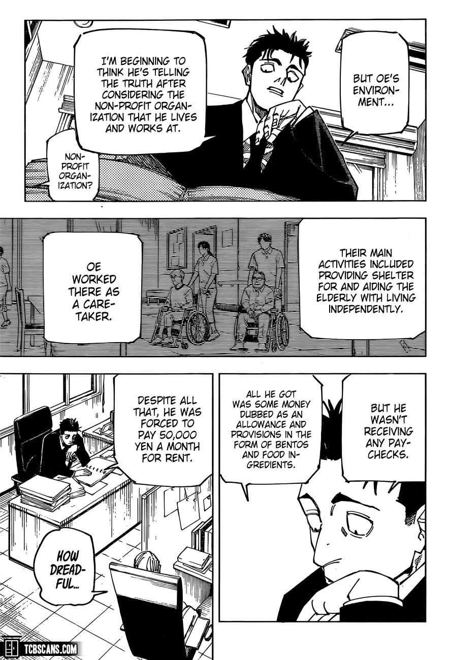 Jujutsu Kaisen, Chapter 159 image 05