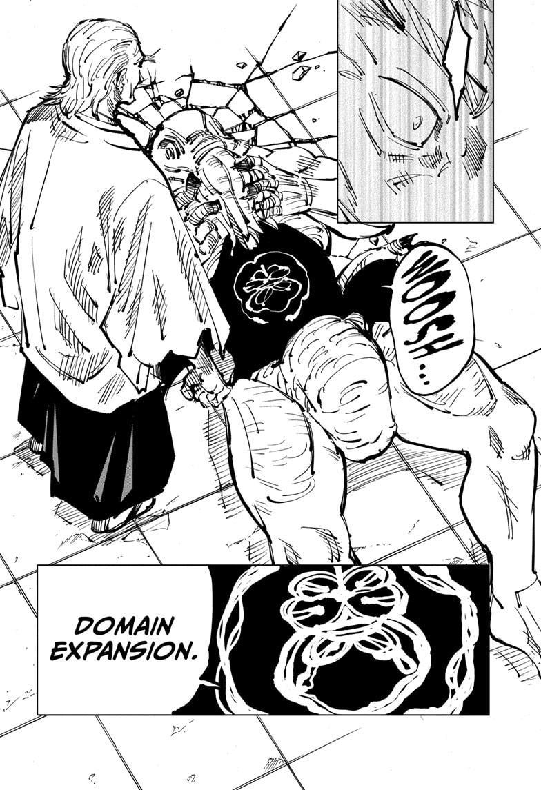Jujutsu Kaisen, Chapter 107 image 019