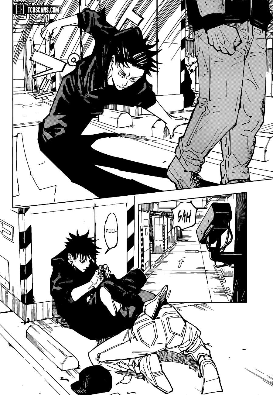 Jujutsu Kaisen, Chapter 154 image 009