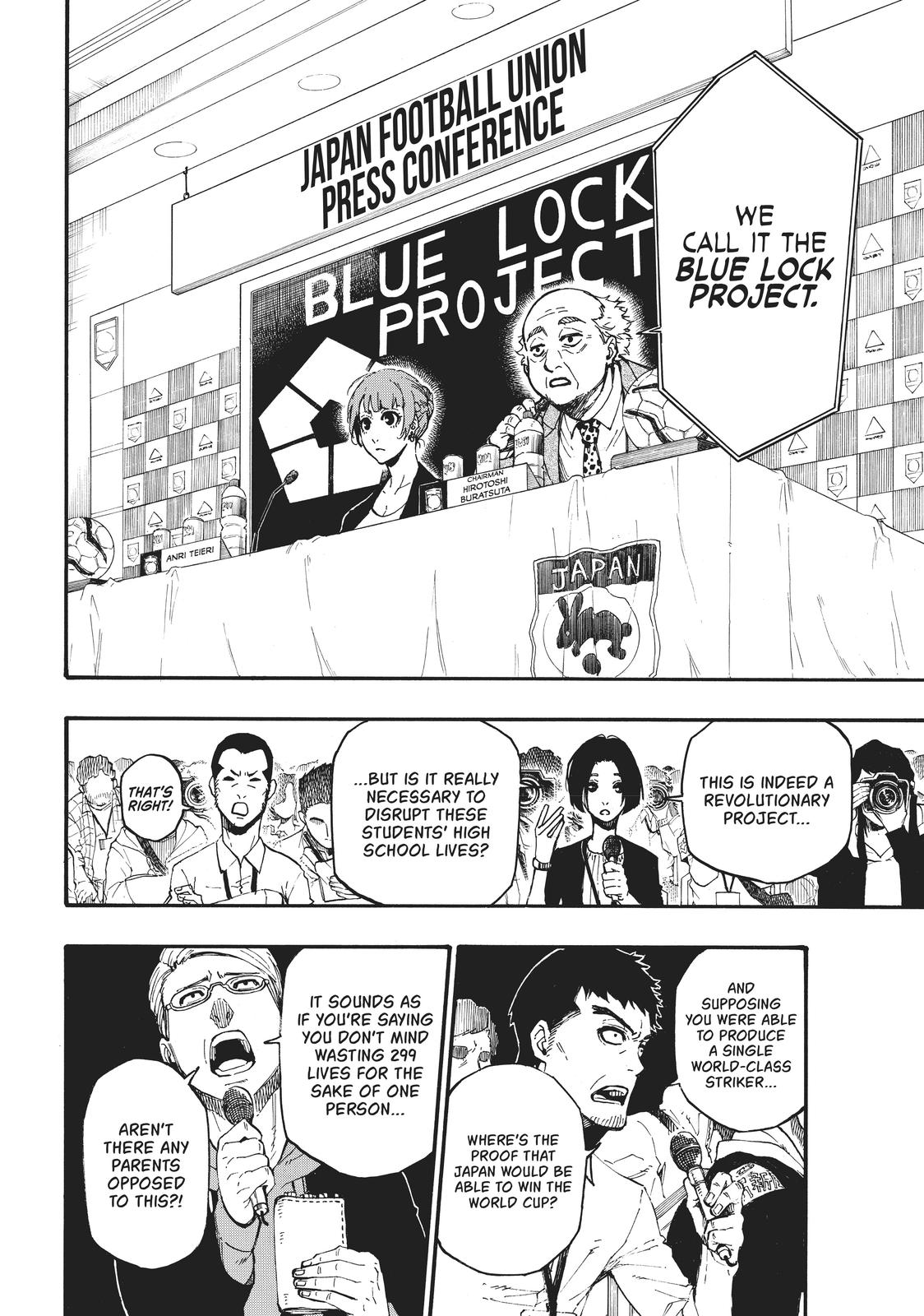 Blue Lock, Chapter 4 image 006