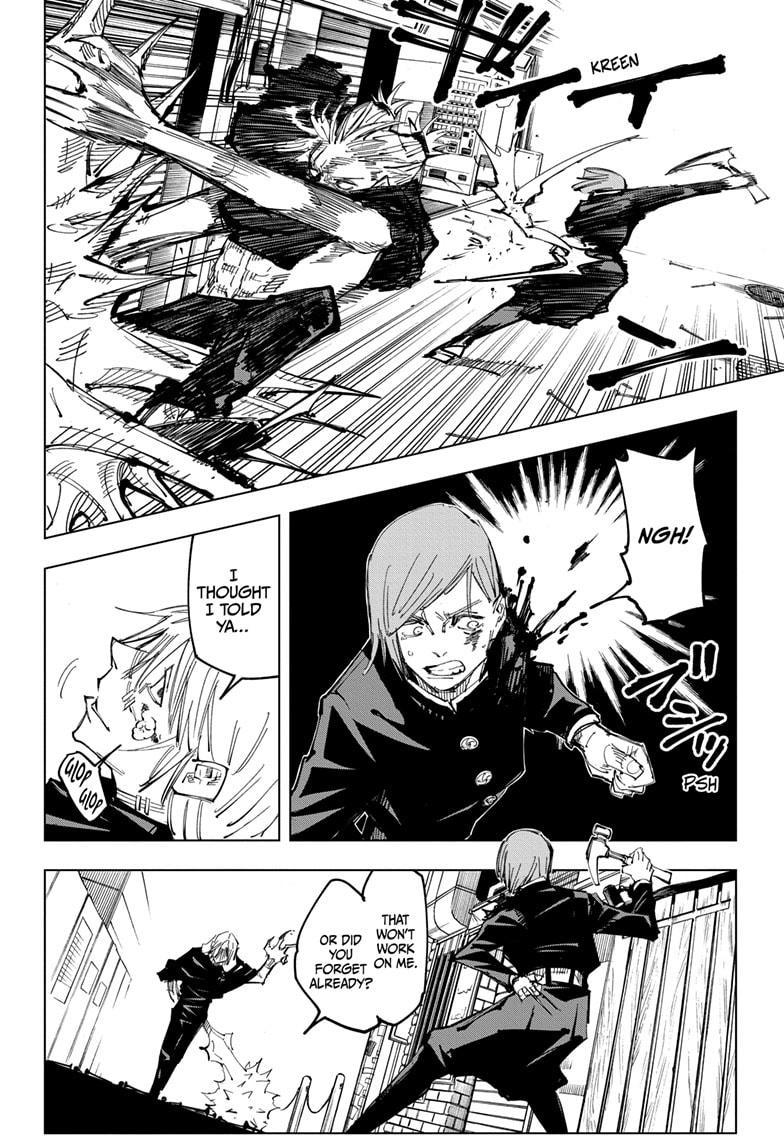 Jujutsu Kaisen, Chapter 123 image 011