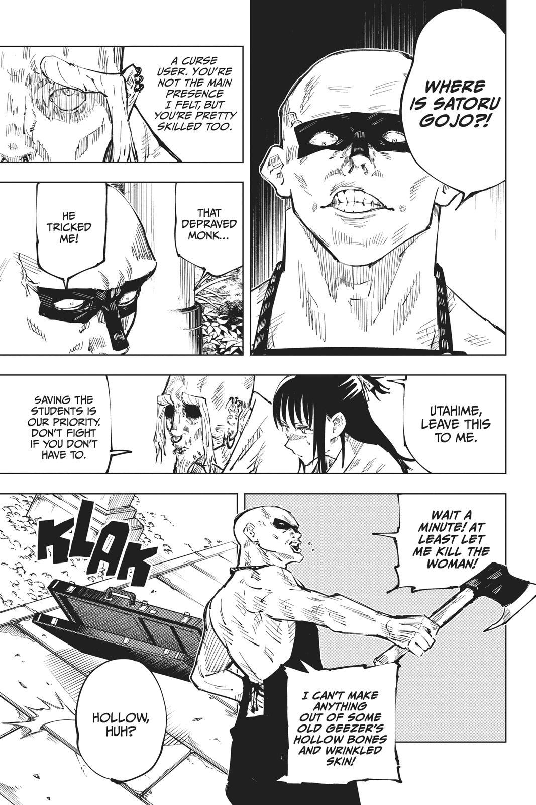 Jujutsu Kaisen, Chapter 46 image 003