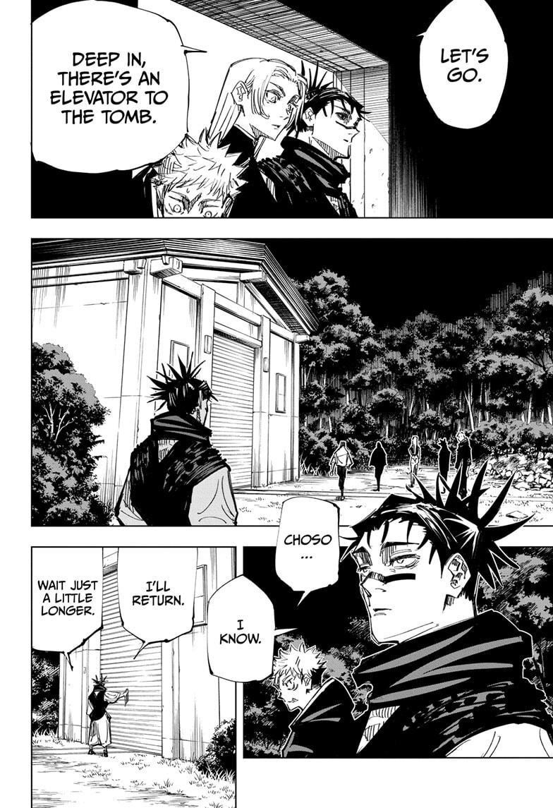 Jujutsu Kaisen, Chapter 144 image 014