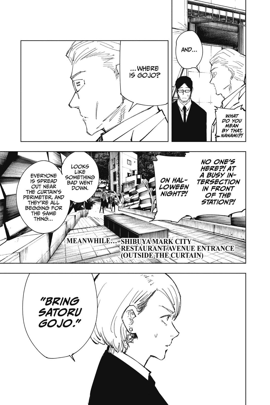 Jujutsu Kaisen, Chapter 83 image 003