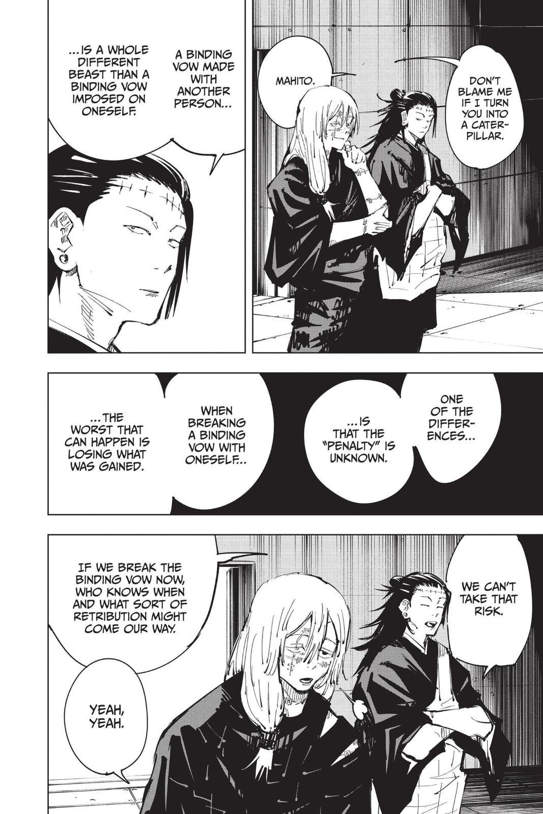 Jujutsu Kaisen, Chapter 79 image 018