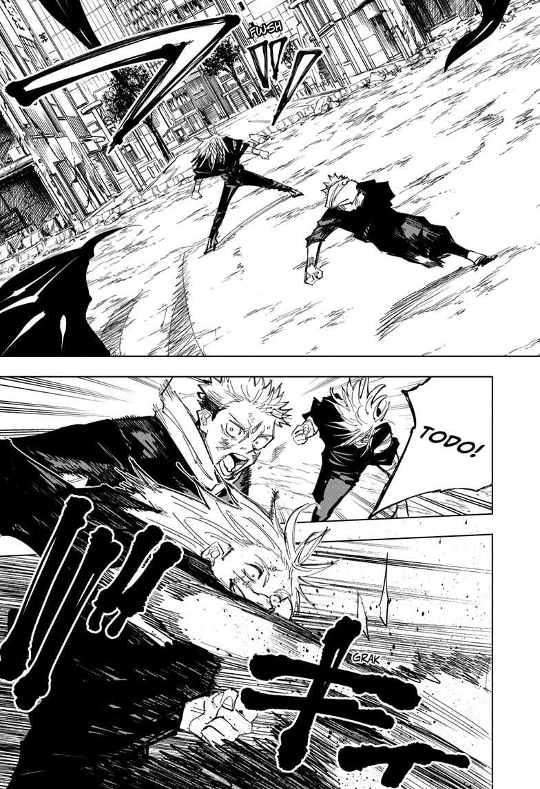 Jujutsu Kaisen, Chapter 130 image 007