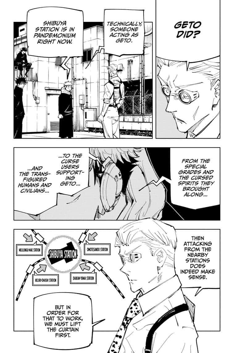 Jujutsu Kaisen, Chapter 93 image 010