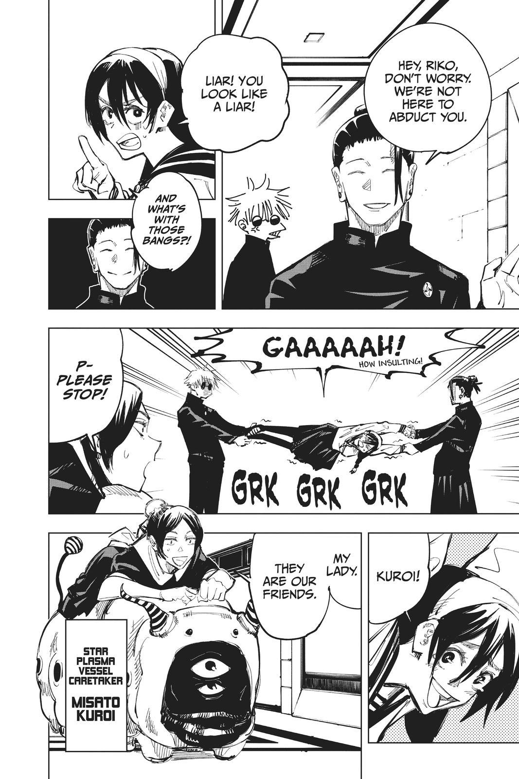 Jujutsu Kaisen, Chapter 67 image 010
