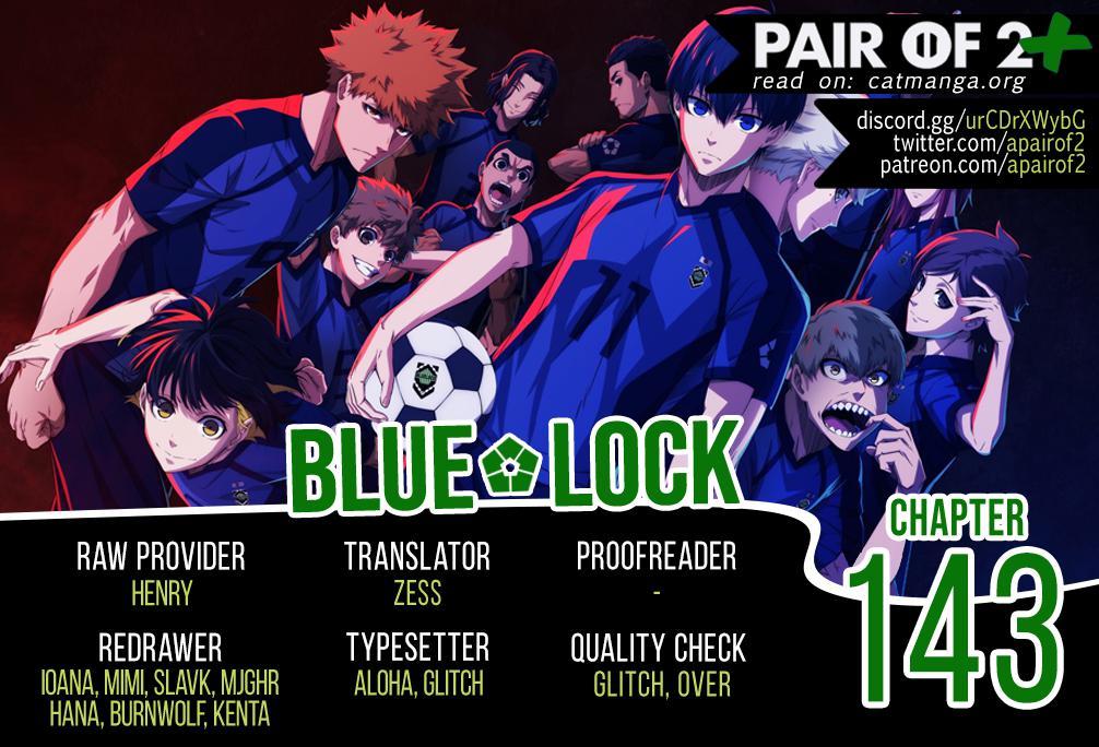 Blue Lock, Chapter 143 image 01