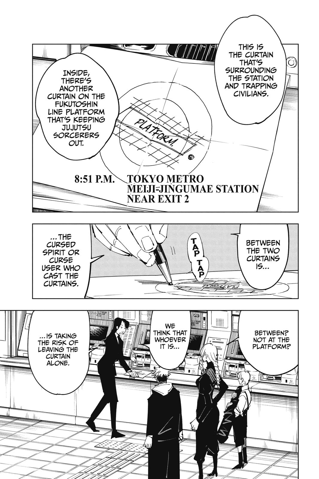 Jujutsu Kaisen, Chapter 85 image 019