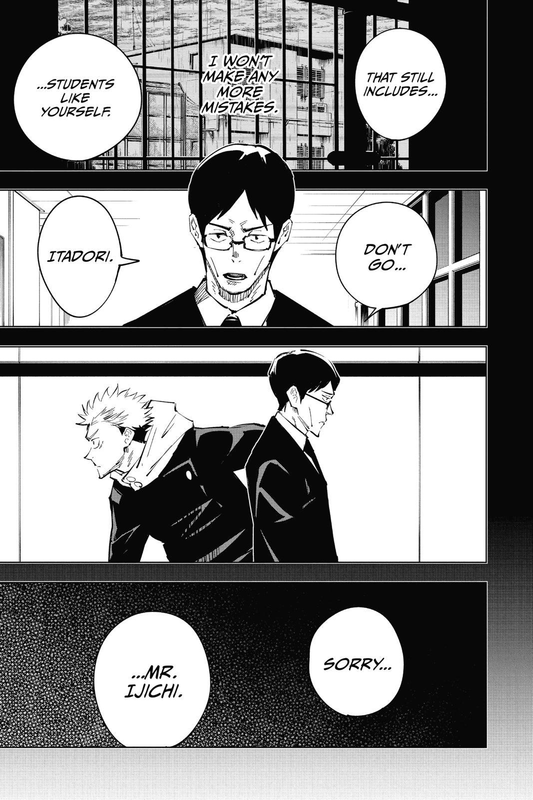Jujutsu Kaisen, Chapter 26 image 009