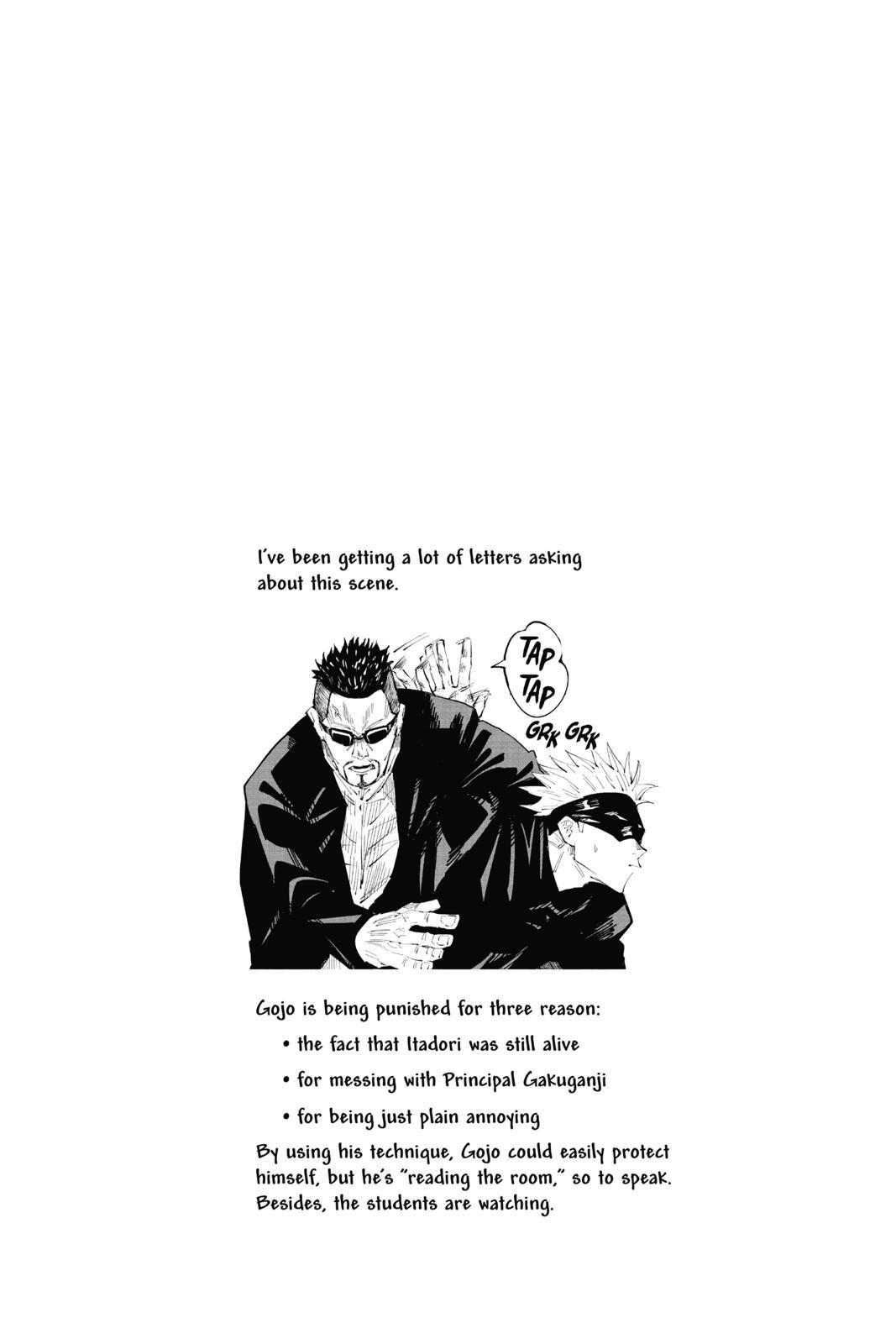 Jujutsu Kaisen, Chapter 33 image 019