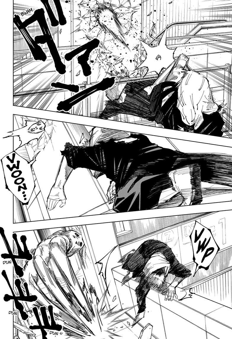 Jujutsu Kaisen, Chapter 122 image 002