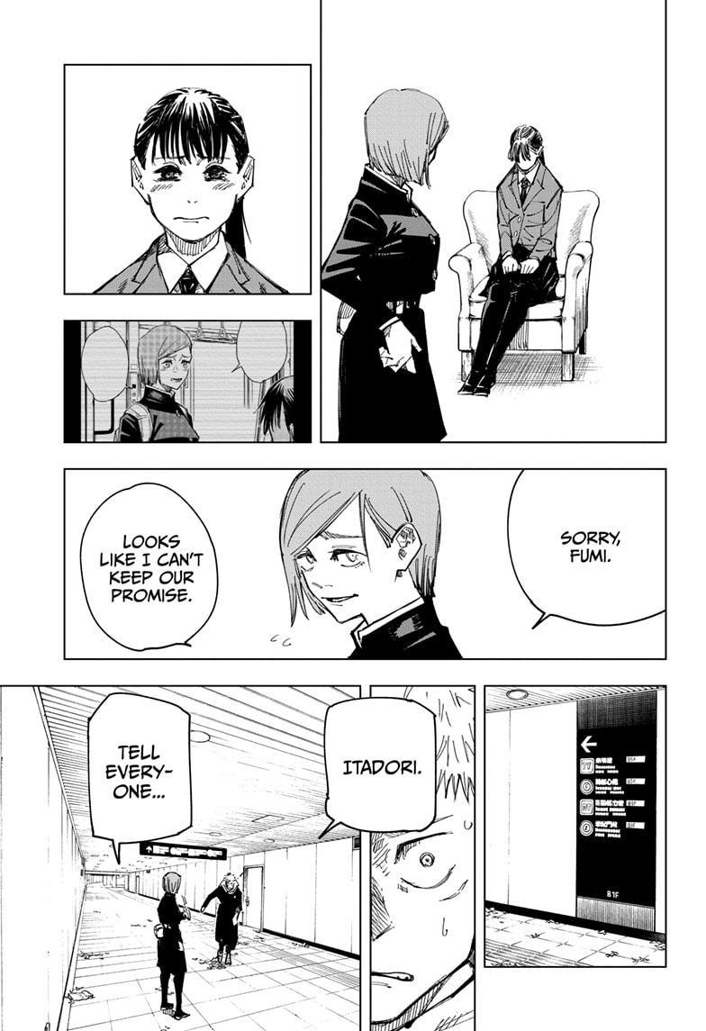 Jujutsu Kaisen, Chapter 125 image 017
