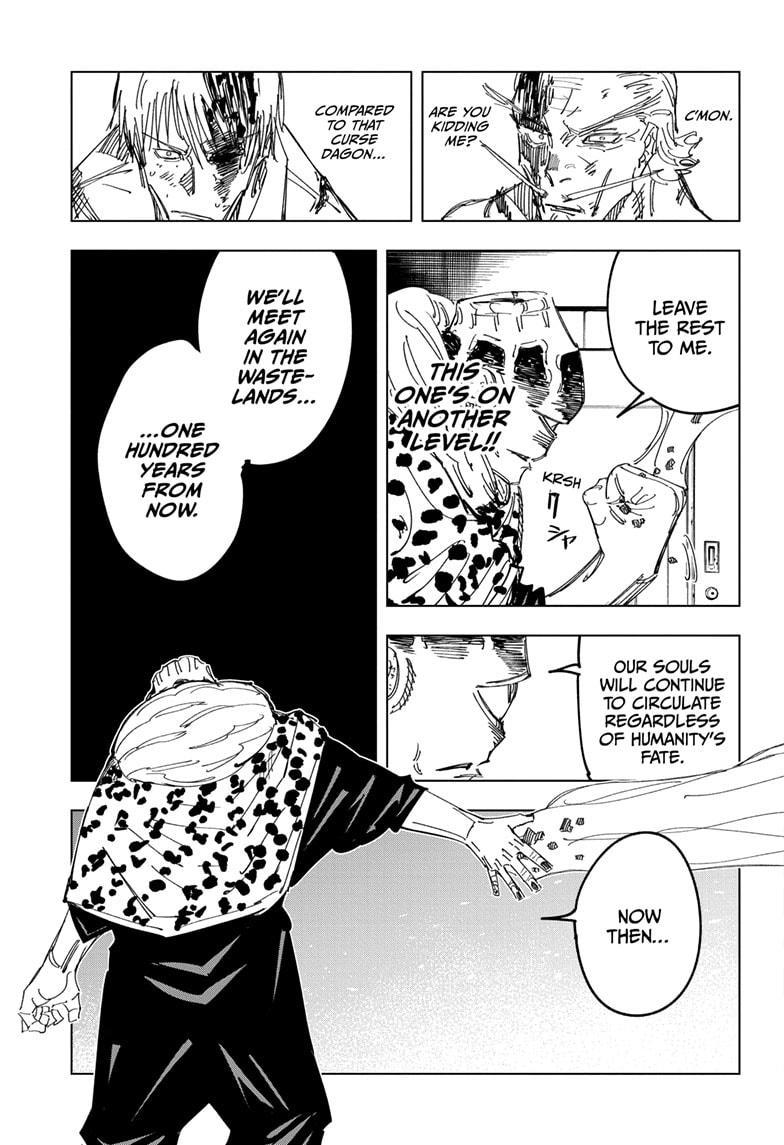 Jujutsu Kaisen, Chapter 111 image 009