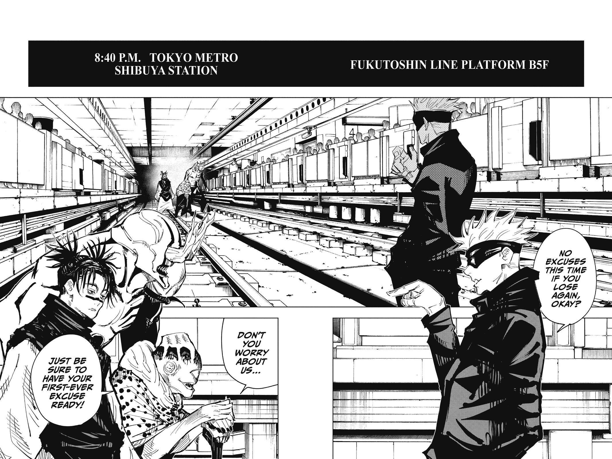 Jujutsu Kaisen, Chapter 83 image 018