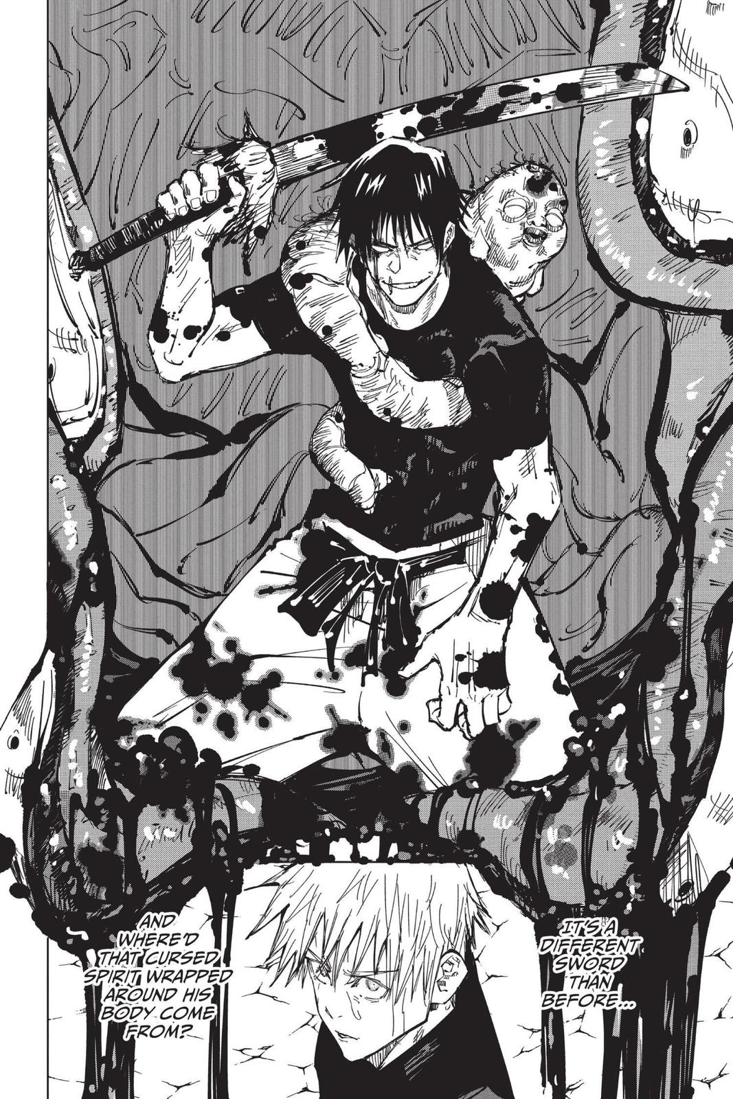 Jujutsu Kaisen, Chapter 71 image 012