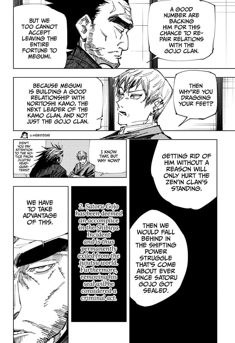 Jujutsu Kaisen, Chapter 148 image 010