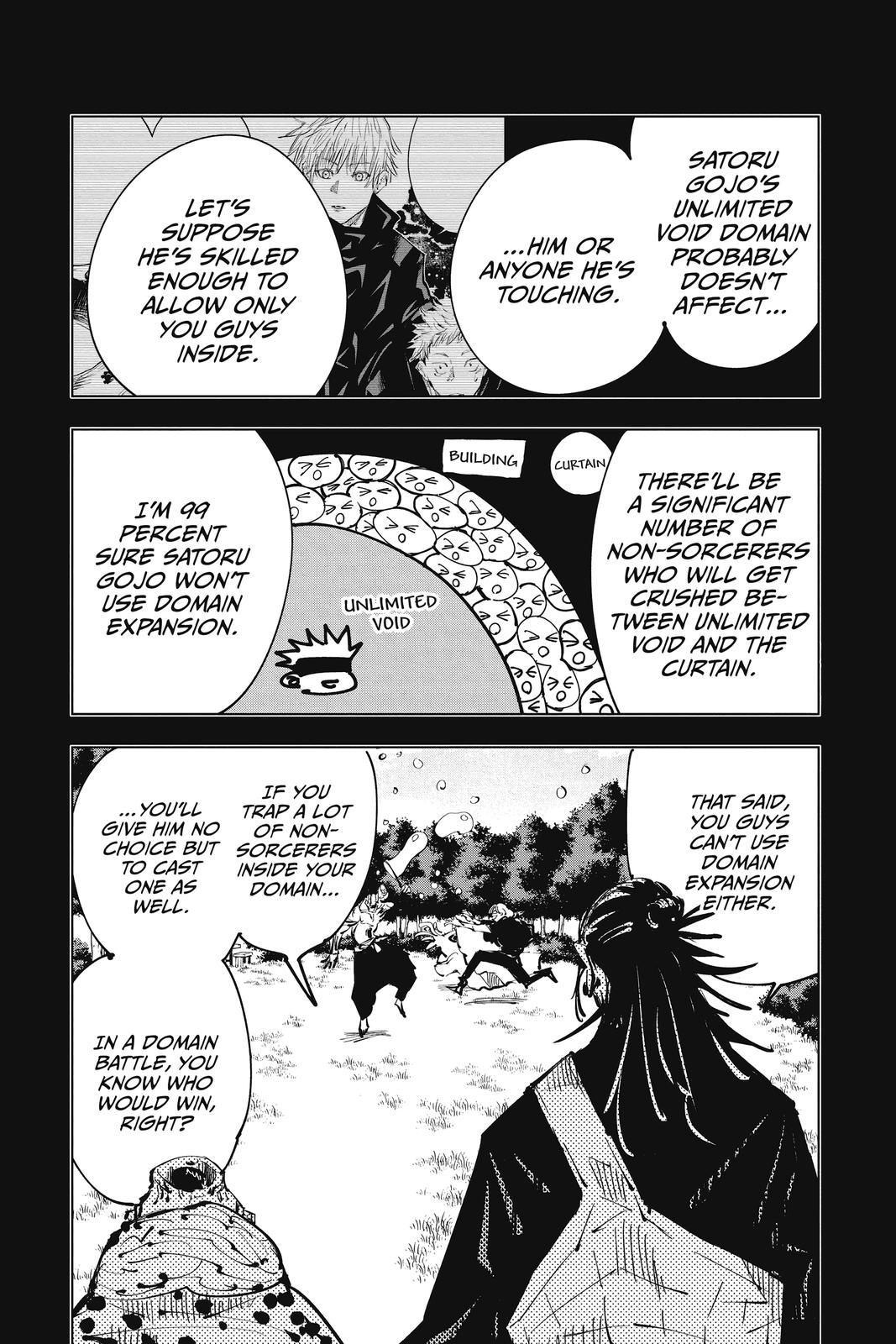 Jujutsu Kaisen, Chapter 84 image 013