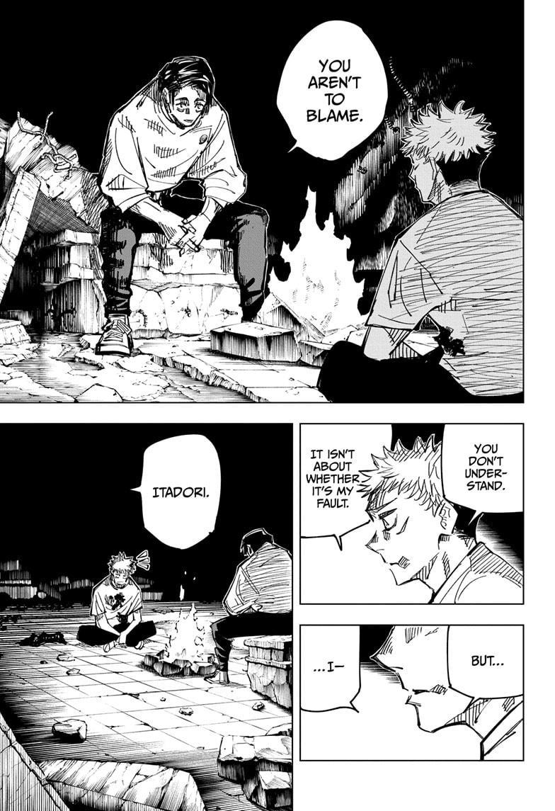 Jujutsu Kaisen, Chapter 143 image 011