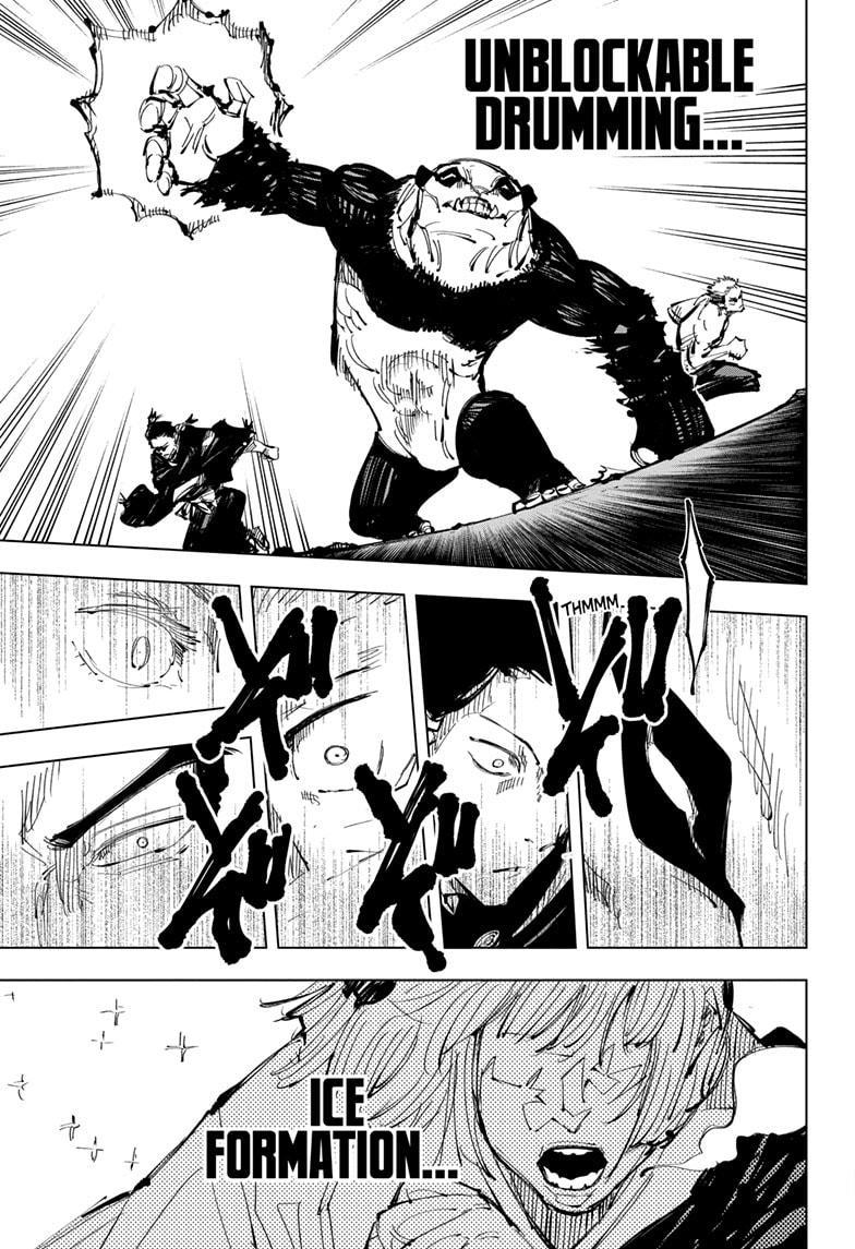 Jujutsu Kaisen, Chapter 135 image 009