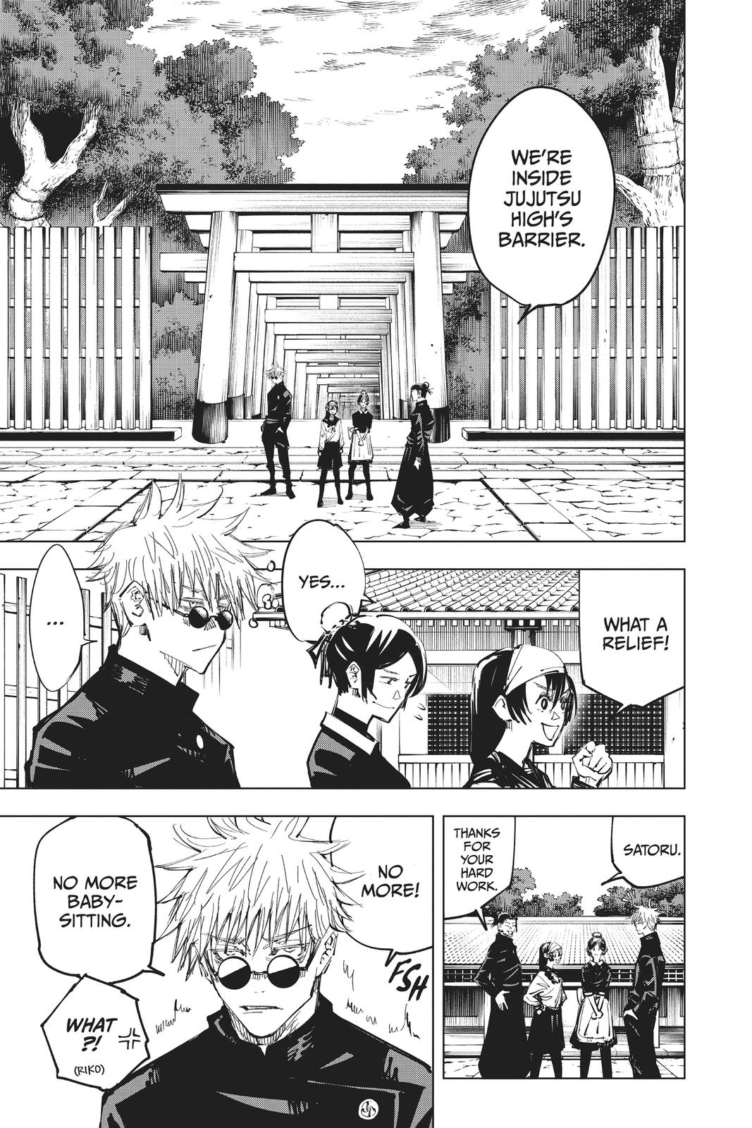 Jujutsu Kaisen, Chapter 70 image 017