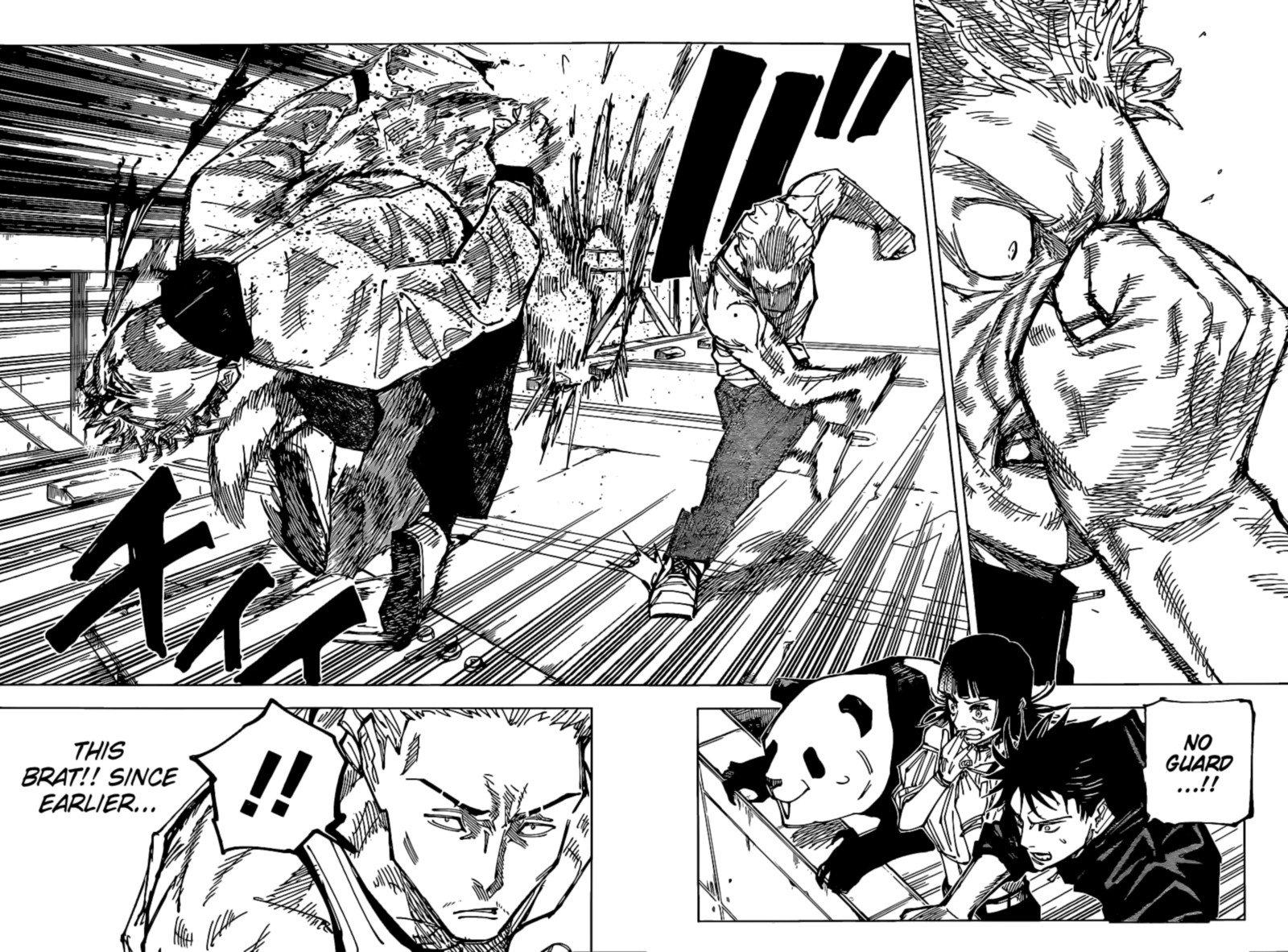Jujutsu Kaisen, Chapter 157 image jujutsu_kaisen_157_6