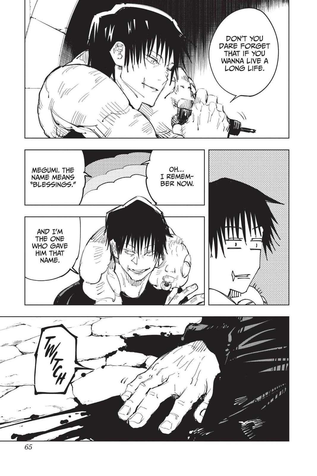 Jujutsu Kaisen, Chapter 73 image 018