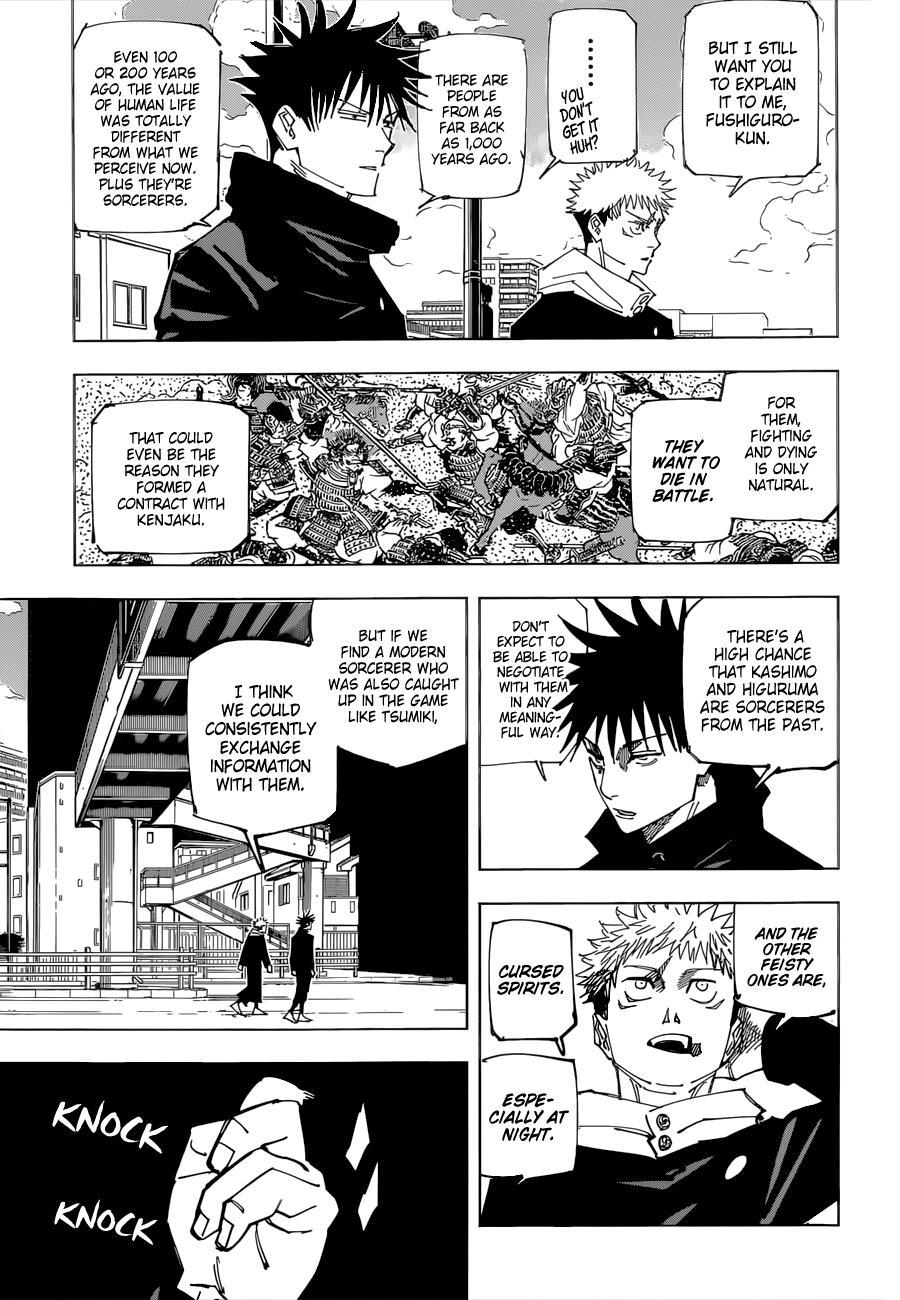 Jujutsu Kaisen, Chapter 161 image 04