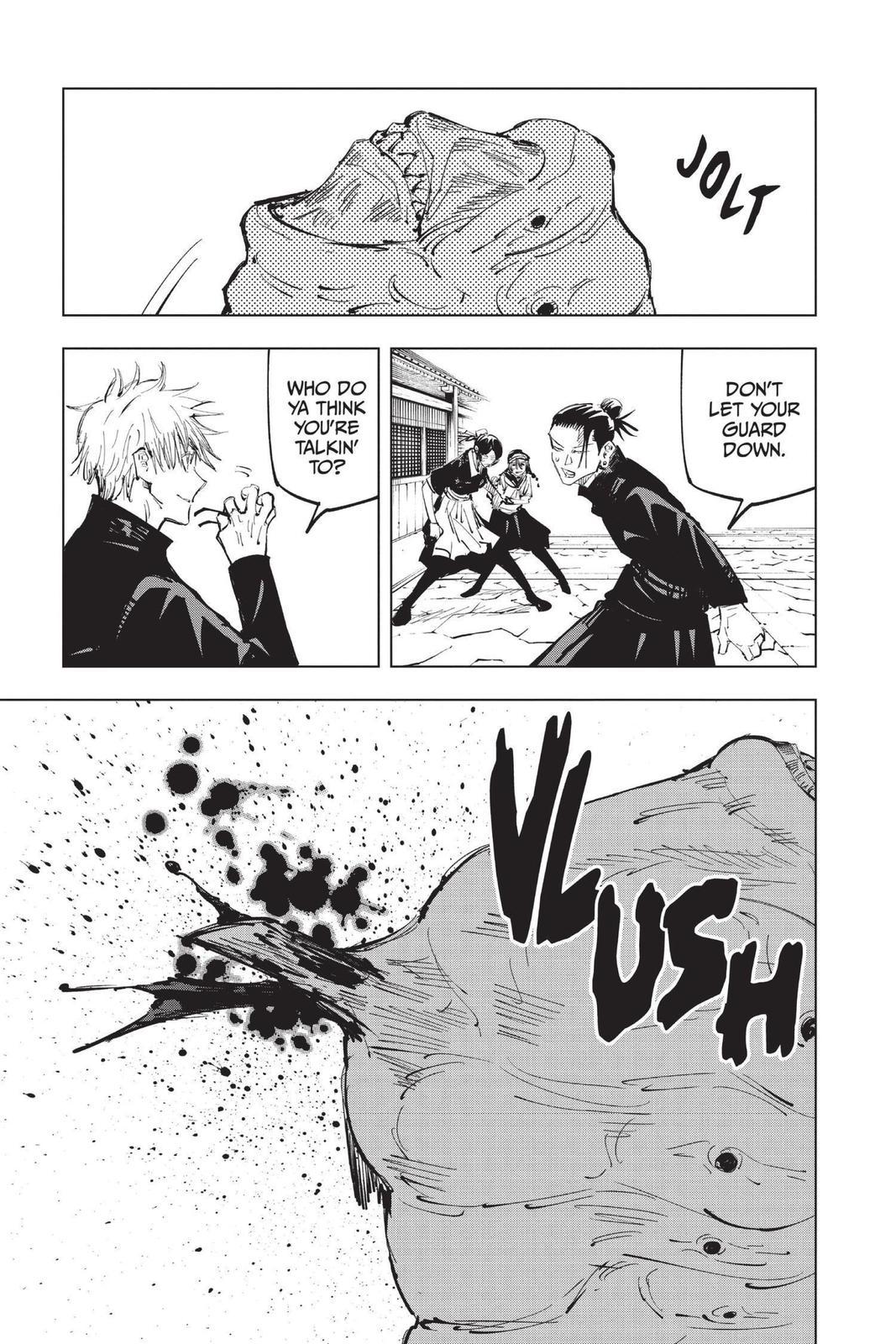 Jujutsu Kaisen, Chapter 71 image 011
