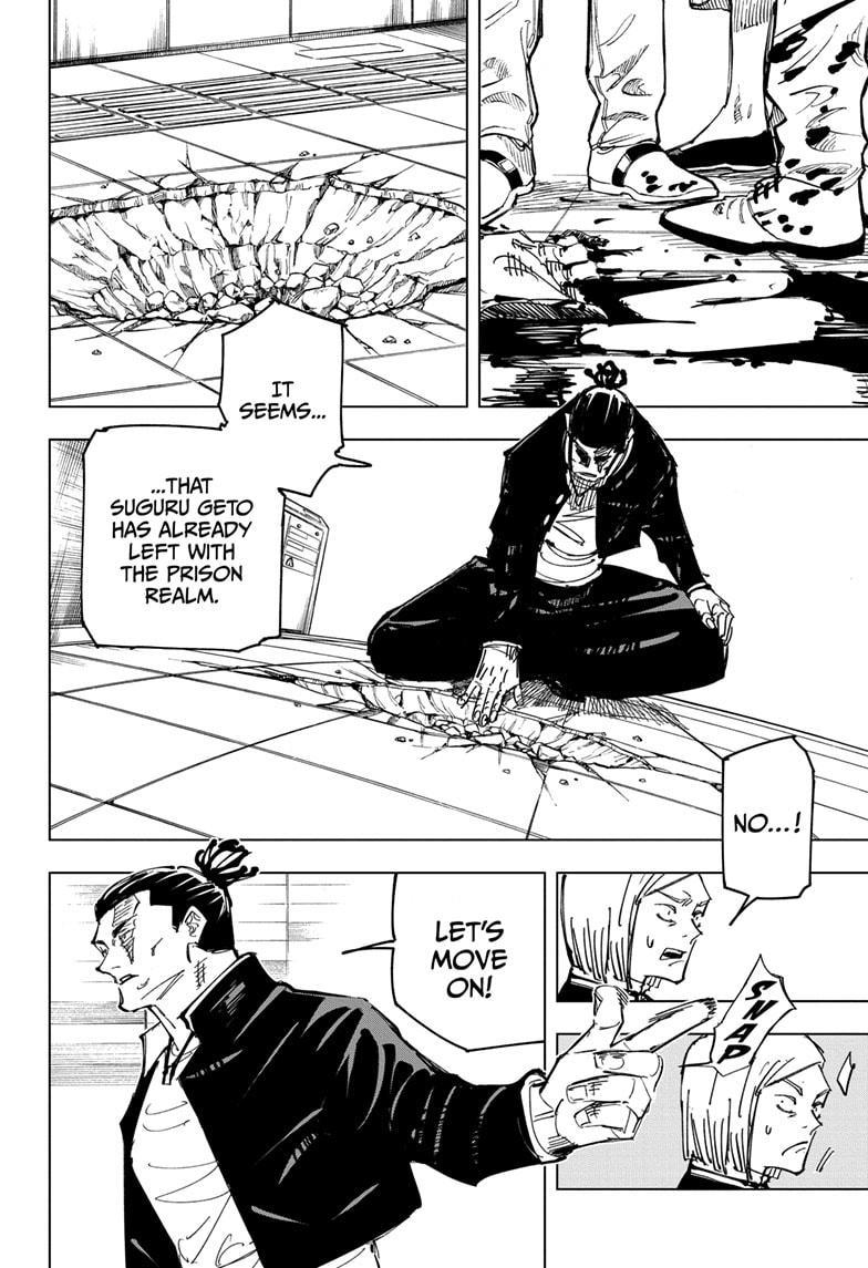 Jujutsu Kaisen, Chapter 133 image 002