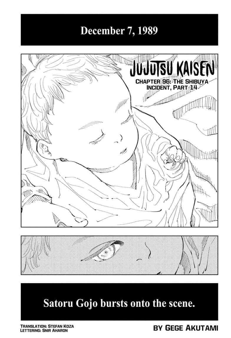 Jujutsu Kaisen, Chapter 96 image 001