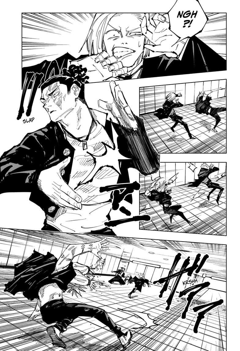 Jujutsu Kaisen, Chapter 127 image 008