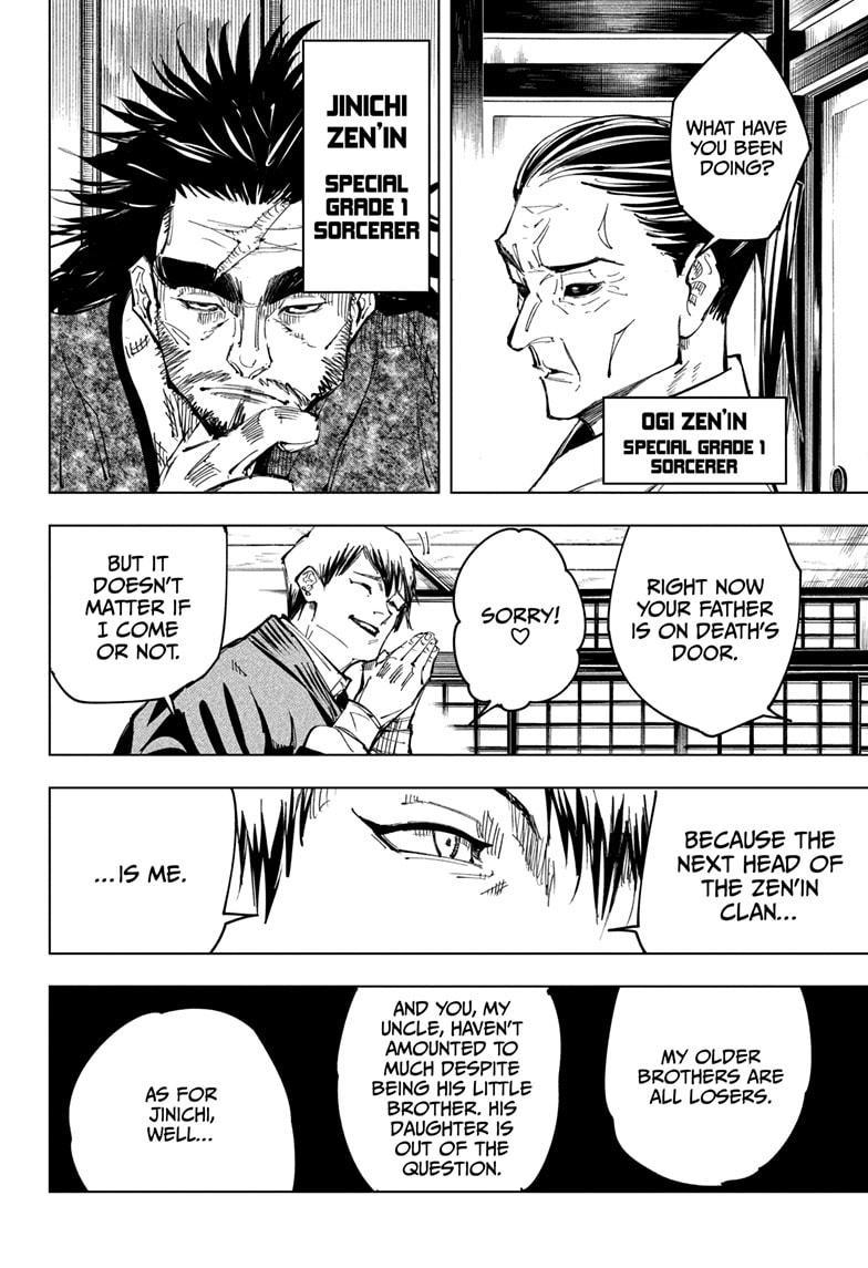Jujutsu Kaisen, Chapter 138 image 004