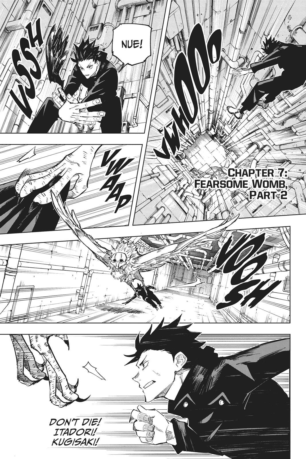 Jujutsu Kaisen, Chapter 7 image 001