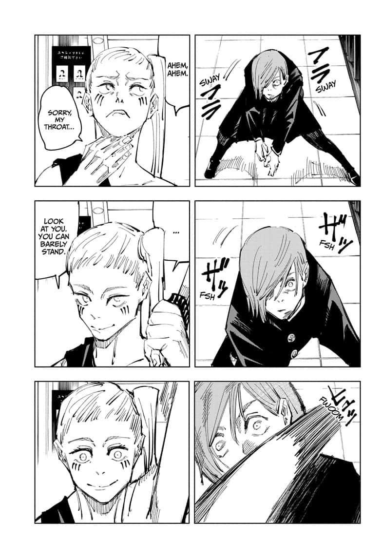 Jujutsu Kaisen, Chapter 99 image 017