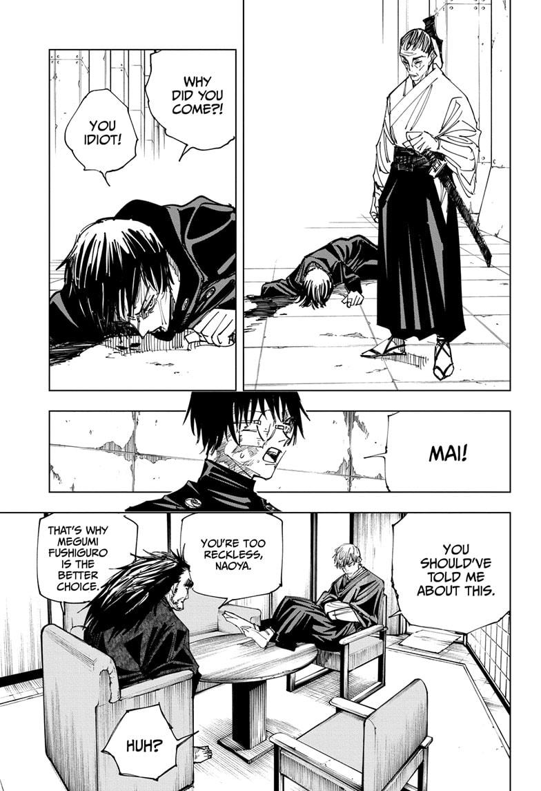 Jujutsu Kaisen, Chapter 148 image 009
