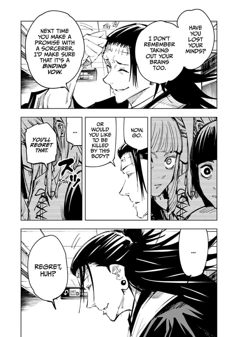 Jujutsu Kaisen, Chapter 93 image 007
