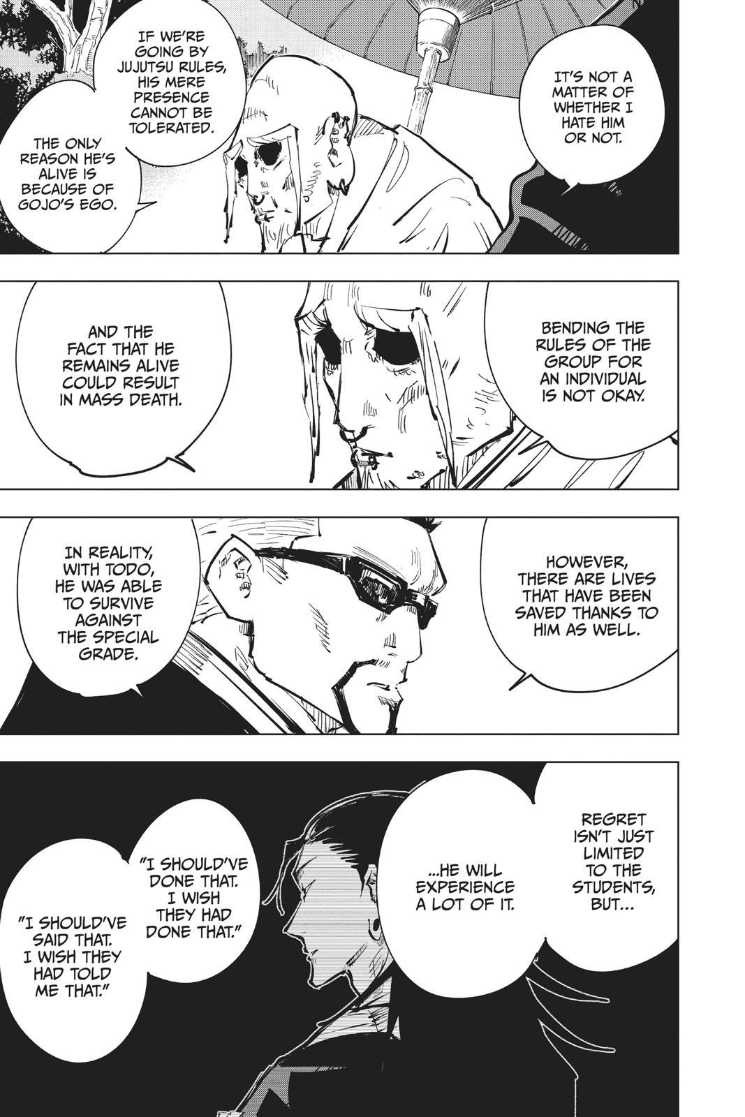 Jujutsu Kaisen, Chapter 54 image 017