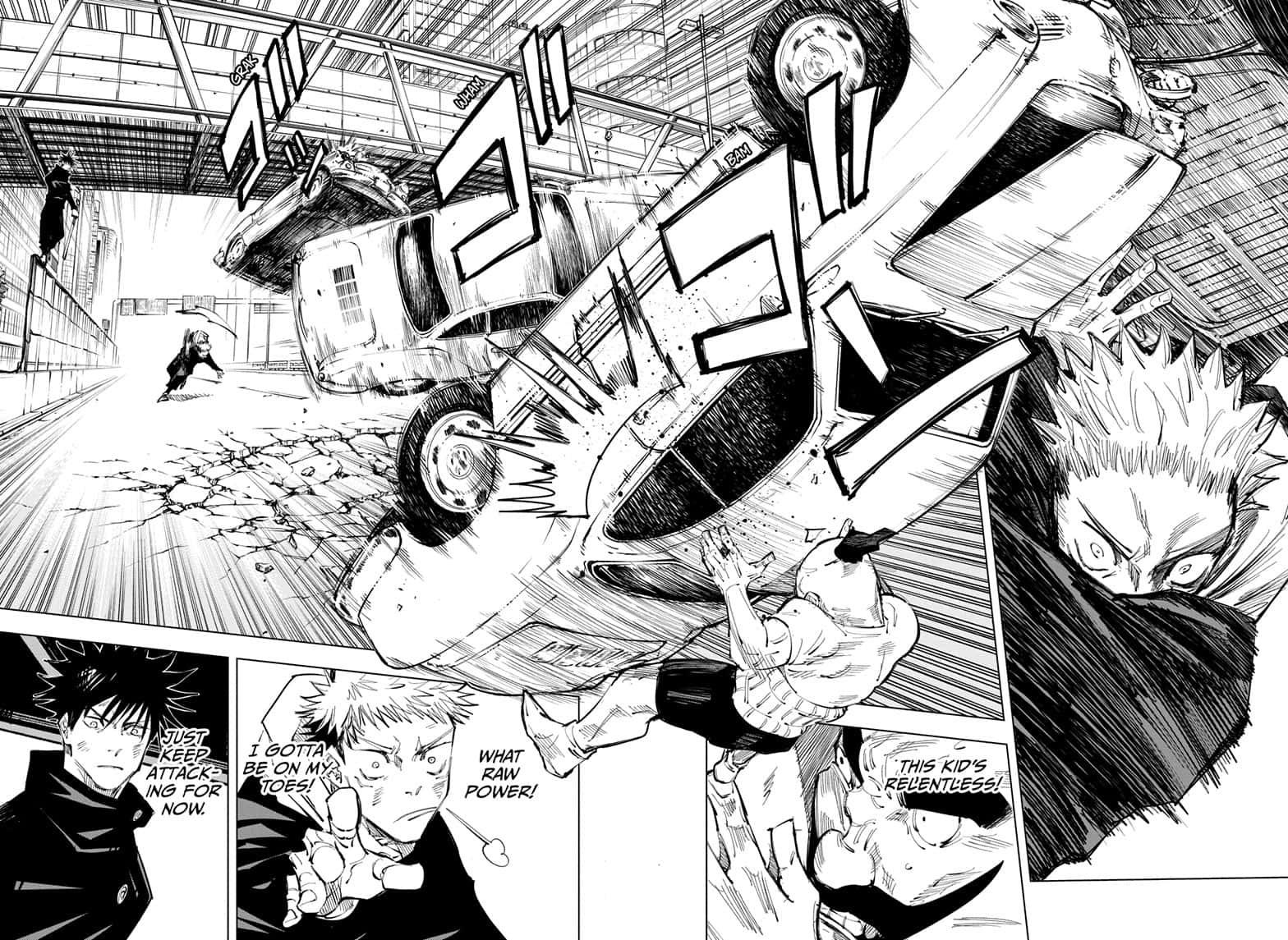 Jujutsu Kaisen, Chapter 97 image 008