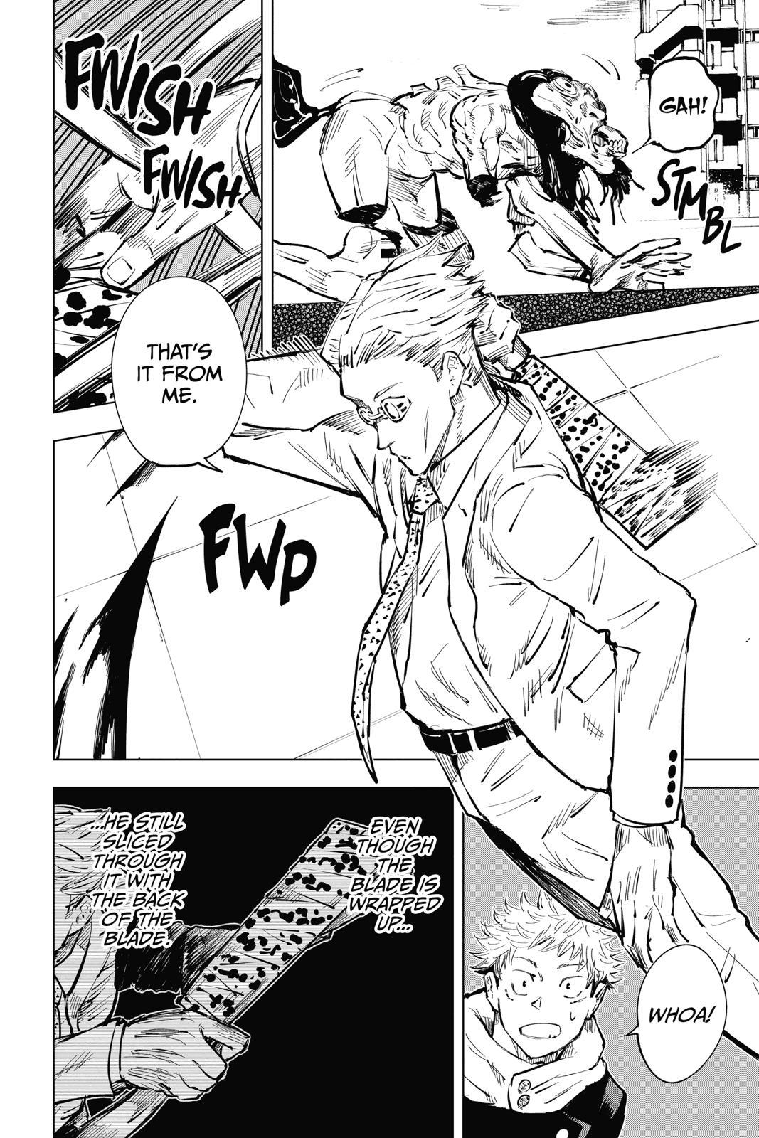 Jujutsu Kaisen, Chapter 20 image 004