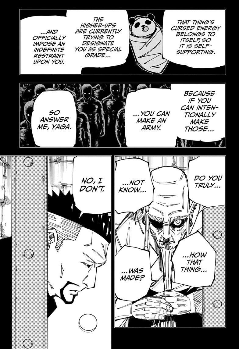Jujutsu Kaisen, Chapter 147 image 003