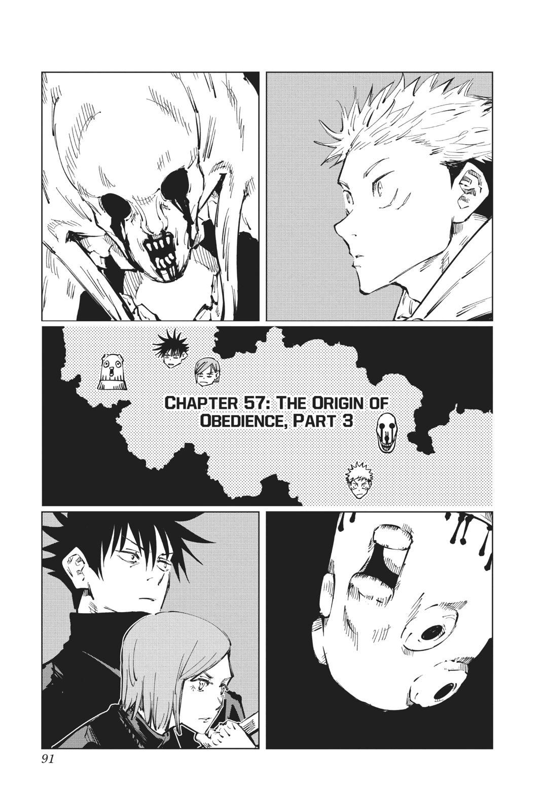 Jujutsu Kaisen, Chapter 57 image 001