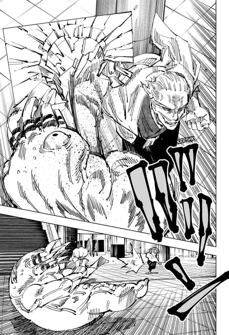 Jujutsu Kaisen, Chapter 106 image 013