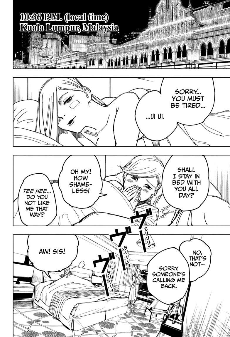 Jujutsu Kaisen, Chapter 133 image 006