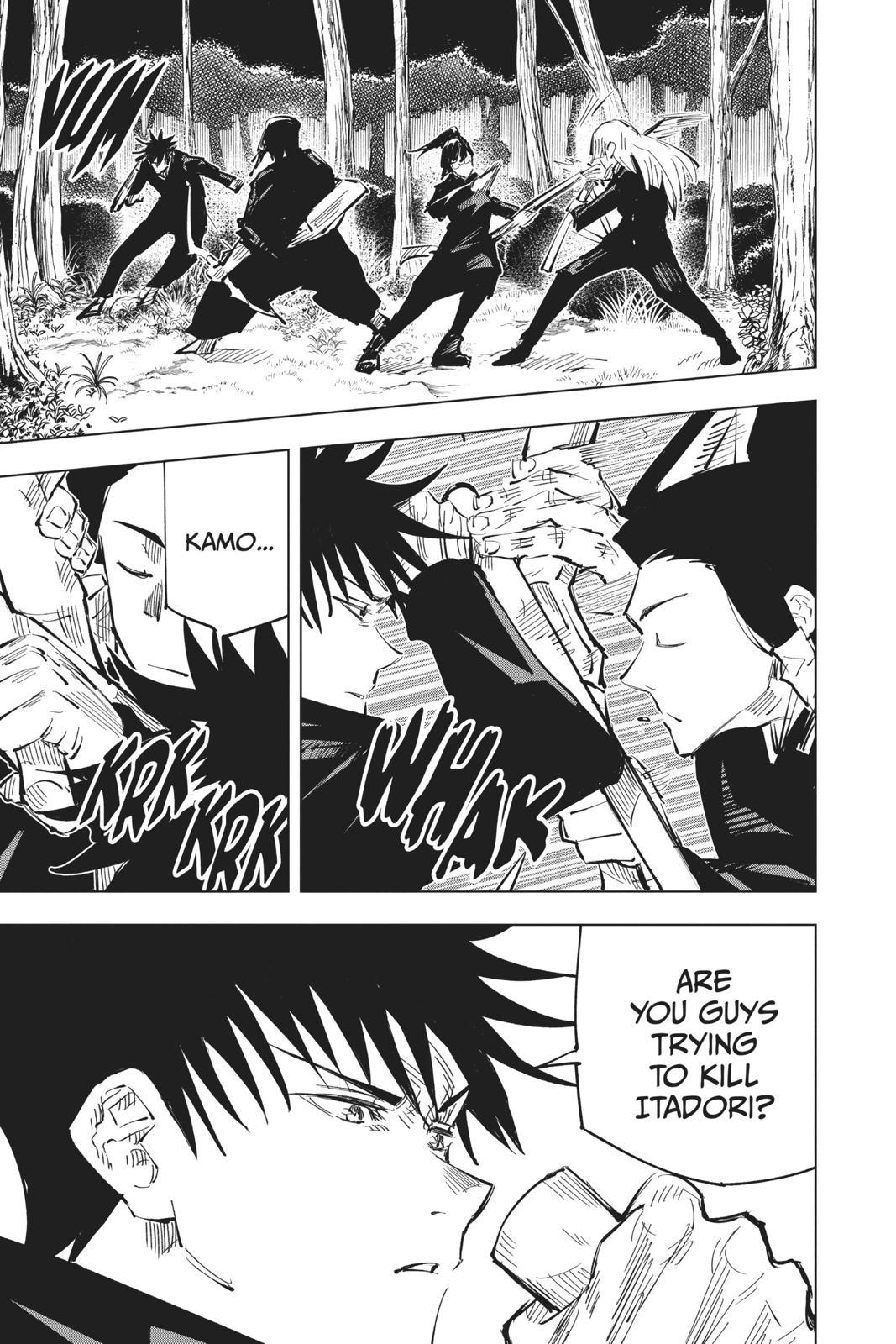 Jujutsu Kaisen, Chapter 35 image 024