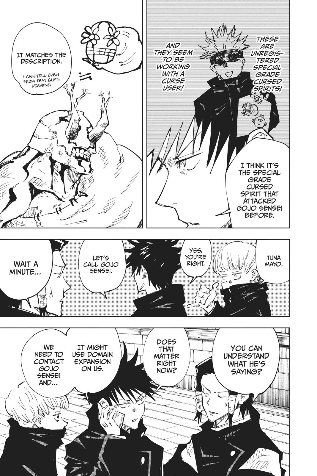 Jujutsu Kaisen, Chapter 45 image 010