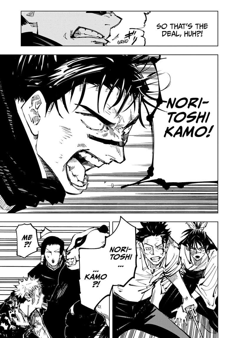 Jujutsu Kaisen, Chapter 134 image 017
